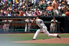 (You can't prove it) Tags: california baseball mlb mccoveycove sanfranciscogiants losangelesdodgers javierlopez attpark