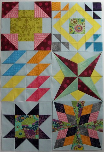 Blocks after week 2 in Summer Sampler Series