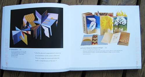 Book spread in  Masters Book Art
