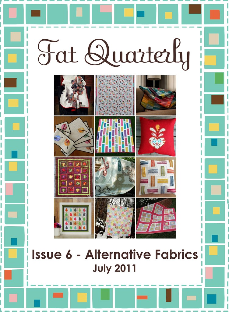Fat Quarterly Issue 6 Front Cover