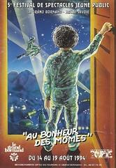 Affiche Festival Au Bonheur des Mômes-1994