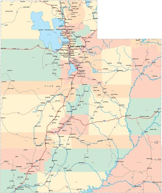utah-road-map