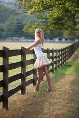 Leanna (elusivemel) Tags: light sunset sexy feet grass rural outdoors evening model legs availablelight farm naturallight ukraine barefoot blonde americanapparel 20 leanna manor available petticoat goldenhour 135mm harvardlaw easterneuropean springtonmanorfarm springton springtonmanor glenmoore