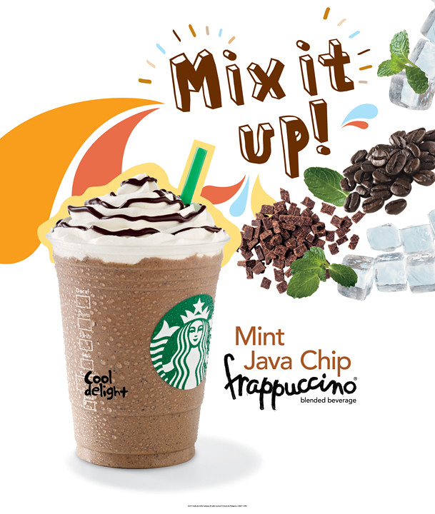 Mint Java Chip Frappuccino