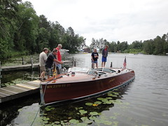 wood lake classic minnesota boats boat cross antique lakes chain fiberglass whitefish crosslake mn outboard inboard