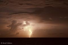 lightning-3976 (RowdyReptile) Tags: ocean sky beach night lightning