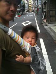 朝散歩とらちゃん (7/26)