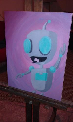 Gir Painting - 7/26/11