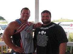 Derek Poundstone and Brant Warrick (skaskali) Tags: muscle pair beefy derek brant powerlifter warrick strongmen poundstone