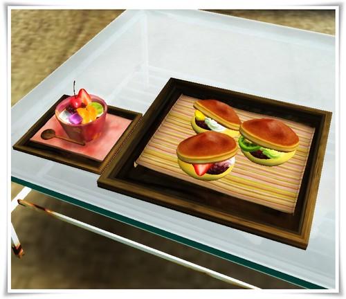 japanese style dessert poche