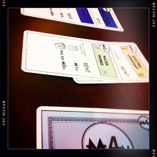 Monopoly - the card version. Day 245/365.