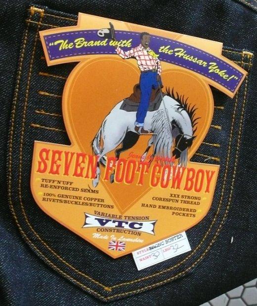 Pokit's Seven Foot Cowboy tag
