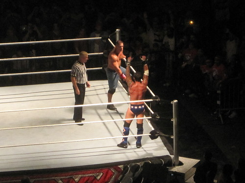 CM Punk and John Cena in Peoria