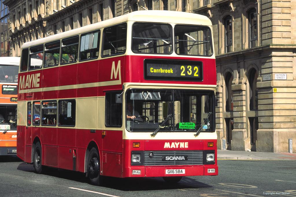 Mayne Scania N113 / Northern Counties G116SBA