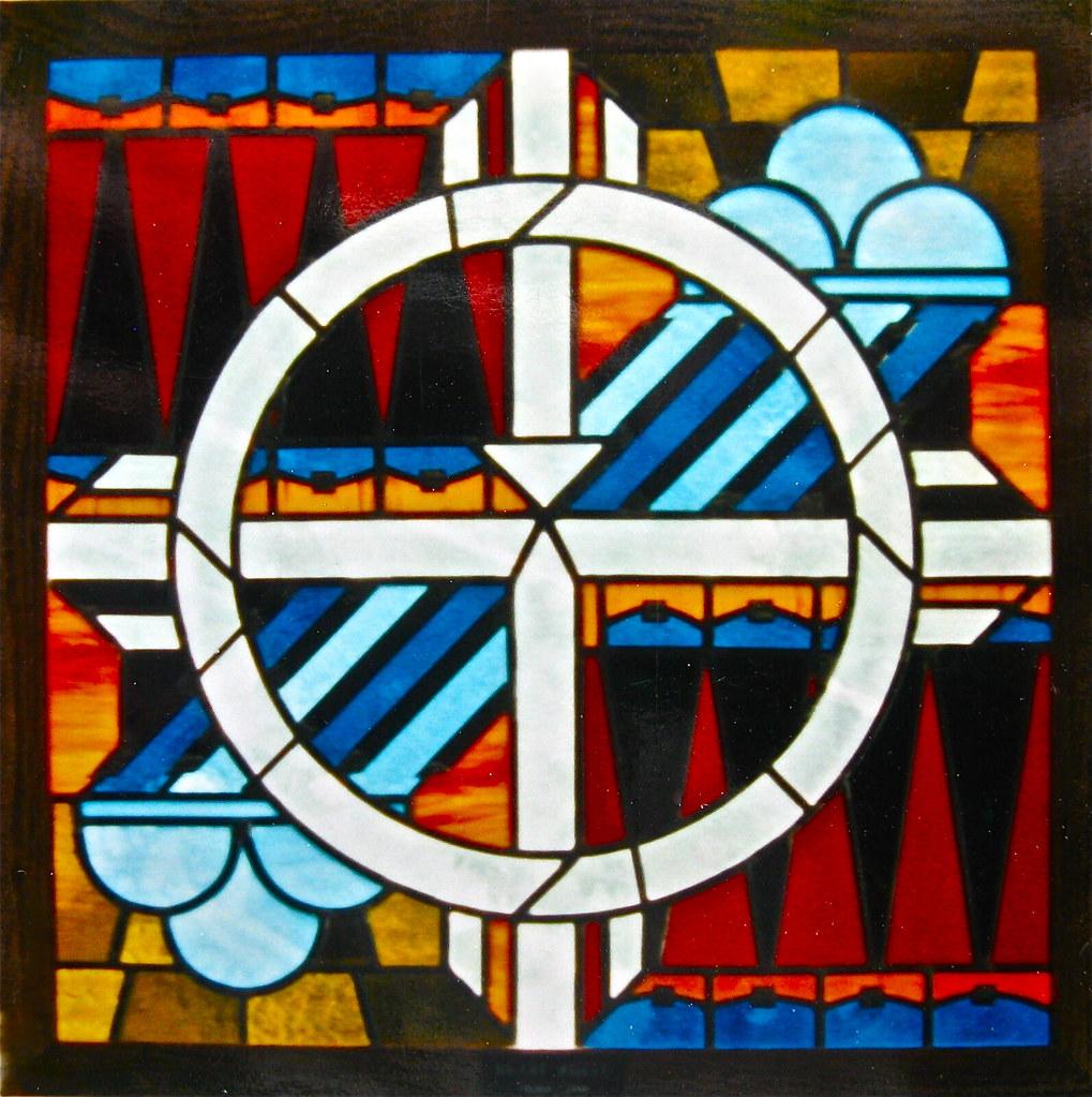 """Medicine Wheel"" window"