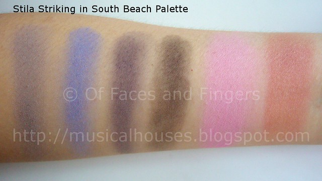 stila stunning in south beach palette swatches 1