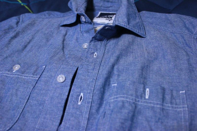 Vendor シャンブレーシャツ