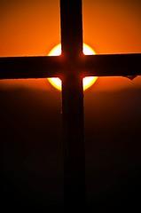 Turn You This Off Sun (Ketosea) Tags: light sunset sky orange sun black colors gold nikon striking cagliari d300 ketosea