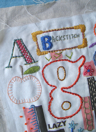 B Is for Backstitch