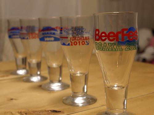 ジャパンビアフェスティバル グラス