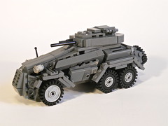 Sd.Kfz. 231 (ricks-to-use) Tags: car germany tank lego wwii ww2 armored 222 panzer 231 sdkfz panzersphwagen