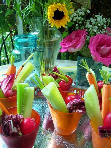 veggie cups!