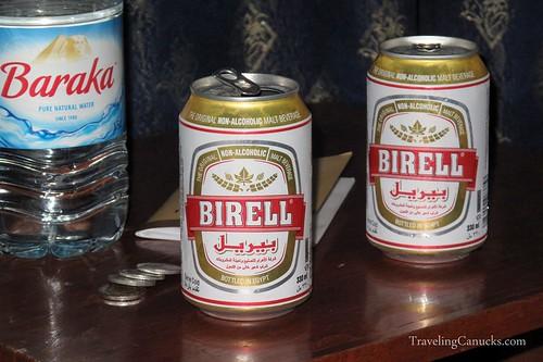 Birell Beer in Cairo, Egypt