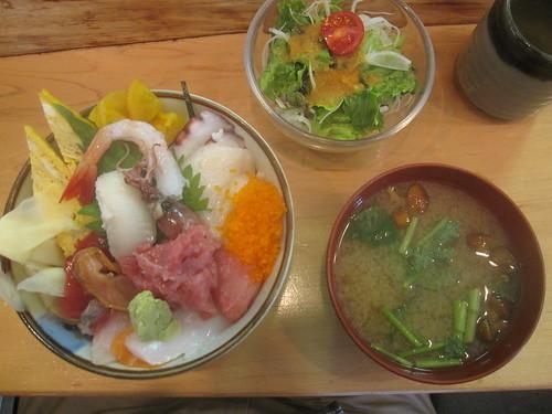 海鮮丼@江戸雅(江古田)