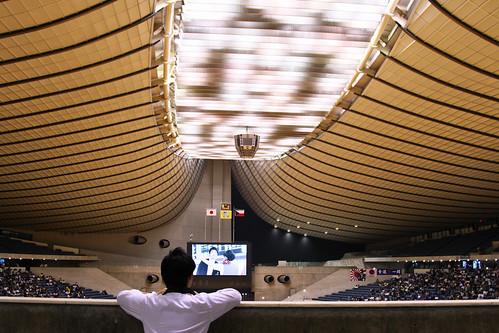 フットサル日本代表vsフットサルチェコ代表 国立代々木競技場第一体育館