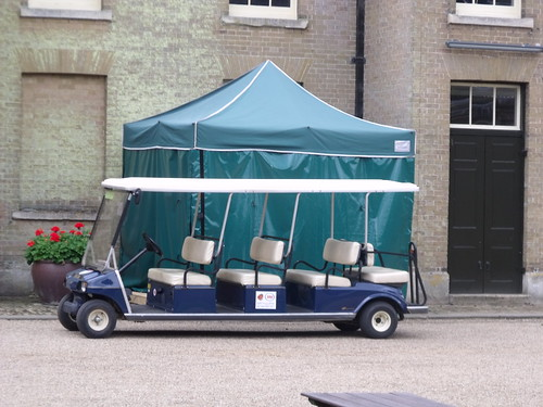Holkham Hall - Coach House / Stable Block - open top bus - Golf Buggy hire - Ladybird 400