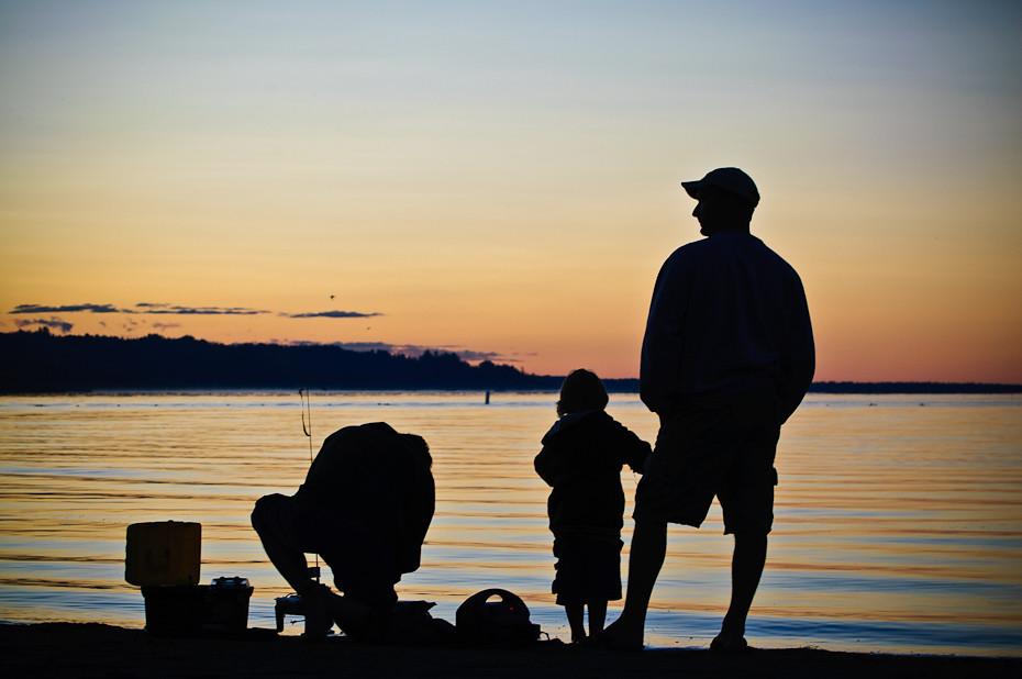Aspen Beach Silhouette
