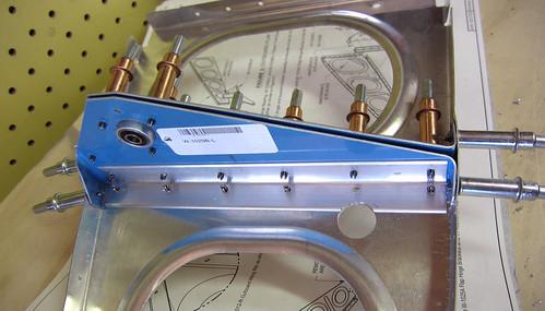 Torque Tube Bearing Bracket Support