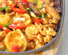Hot Plate Sizzling Tofu