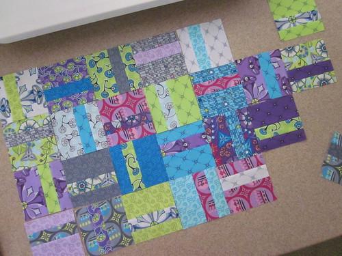 Kingdom Quilt - squares