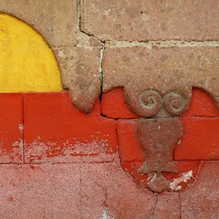 sma wall detail #115 (msdonnalee) Tags: muro wall masonry adobe mexique mexcio mexiko messico walldetail photosfromsanmigueldeallende wallsofsanmigueldeallende fotosdesanmigueldeallende murosdesanmigueldeallende