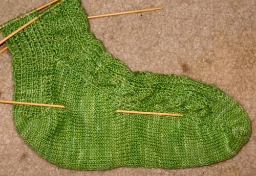Candelabra socks 1b