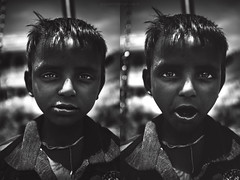 travel impressions. India. (G.Salvatore) Tags: portrait bw india kid child rajastan giovannisalvatore ritrattidiof