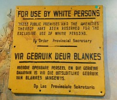 Travesty (mikecogh) Tags: sign capetown legacy injustice languages afrikaans apartheid travesty district6museum