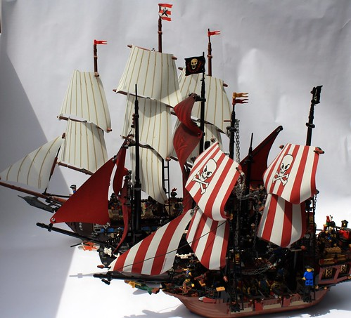Ships Sailing Off Lord Of The Rings
