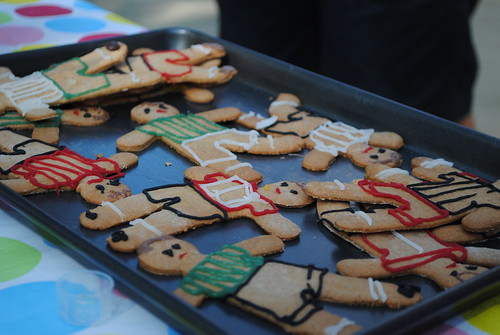gingerbread footballers