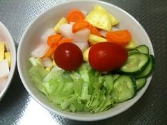 朝食サラダ(2011/8/6)