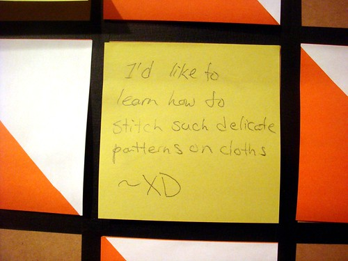 The Feedback Quilt Project