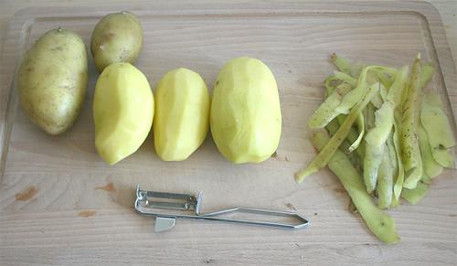 14 - Kartoffeln schälen