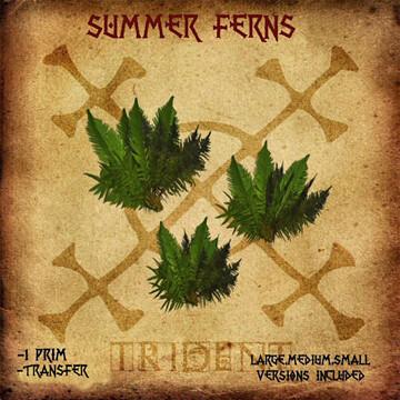 Trident Trident Summer Ferns 25L$