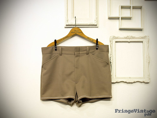 Mens Tan Short Shorts