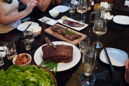 Bo Ssam Spread - Meats @ Anju