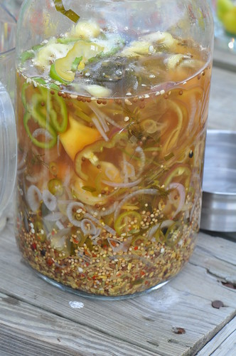 Pepper Infused Vodka Mixture