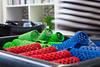 colorful (Carmi_linsensch.eu) Tags: wedding colorful curls frisur hochzeit bunt preparations handtuch wickeln vorbereitung braut frisör locken lockenwickler lockenwicker probestecken