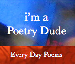 Poetry Dude Blue