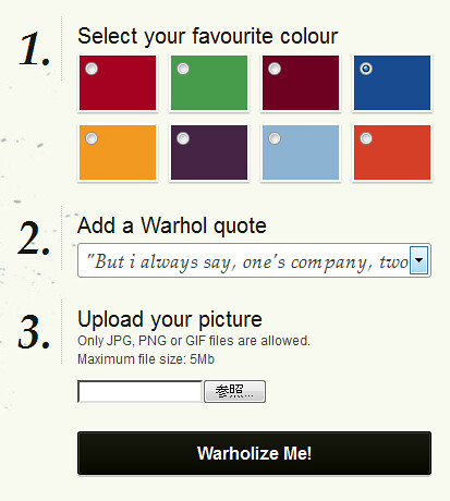 The Warholizer